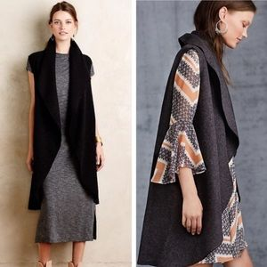 Anthropologie Moth Museum District Wool Vest
